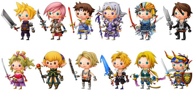 TR Final Fantasy