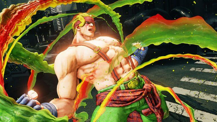Alex llega a Street Fighter V