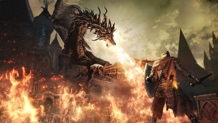 Dark Souls 3 Lanzamiento