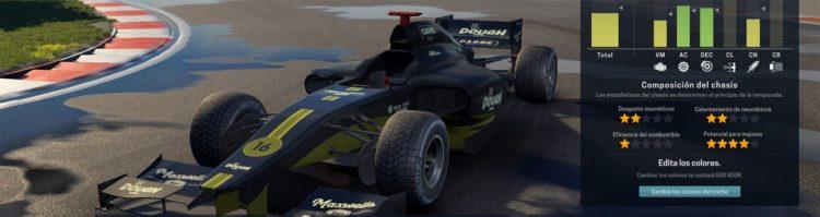 Jugando a Motorsport Manager