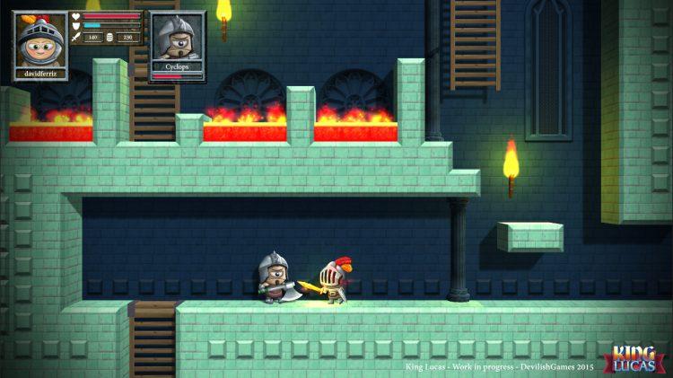 King Lucas llega a Steam