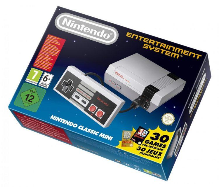 Nuevas unidades de NES mini en España