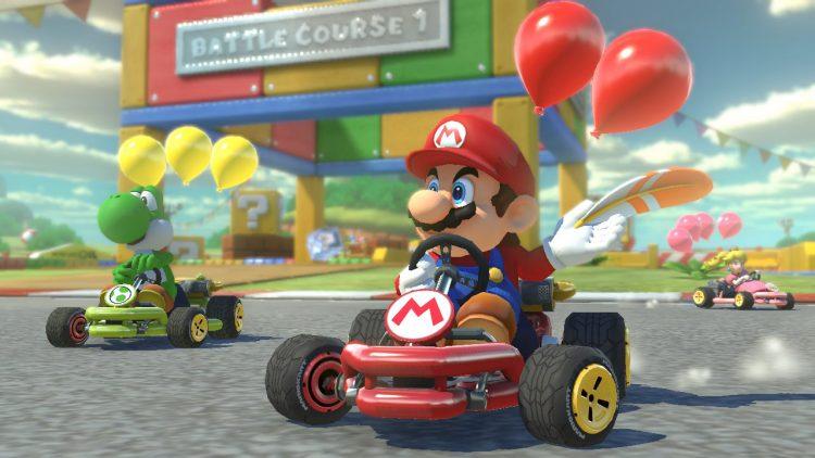 Mario Kart 8 Deluxe muestra sus bondades