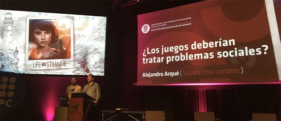 Alejandro Arqué y los temas sociales en los videojuegos