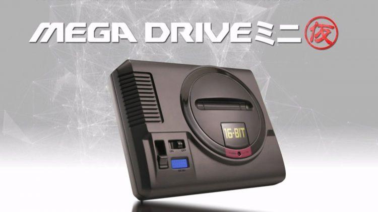 Anunciada la Sega Mega Drive Mini