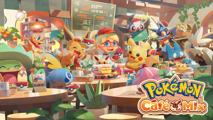 Pokémon Café Mix llegará a Switch y móviles
