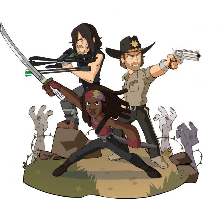Los personajes de The Walking Dead se unen a Brawlhalla