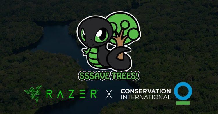 Razer se propone salvar un millón de árboles
