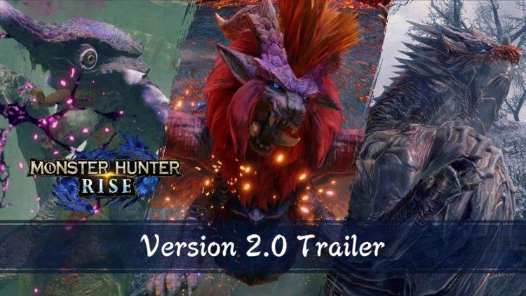 Monster Hunter Rise recibe la versión 2.0