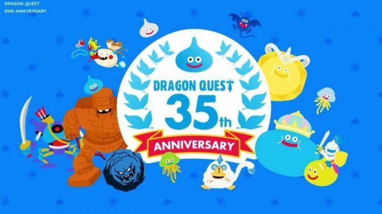 Square Enix celebra los 35 años de Dragon Quest
