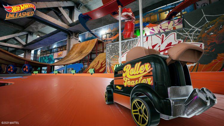 Hot Wheels Unleashed muestra su parque de patinaje
