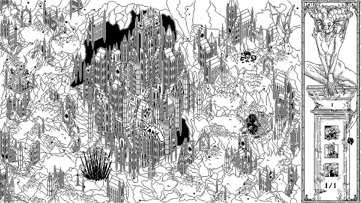 Death Crown Mapa