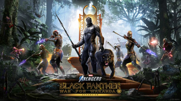 Marvel's Avengers prepara la llegada de Black Panther
